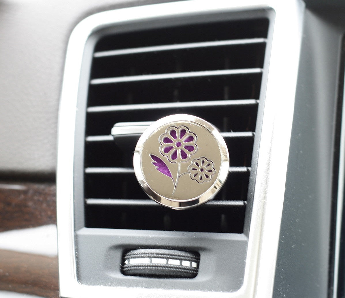 essential oil car air freshener diffuser daisy model with 5ml