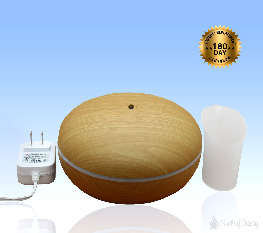 Essential Oil Diffuser - The Hibiscus (Like New Item)