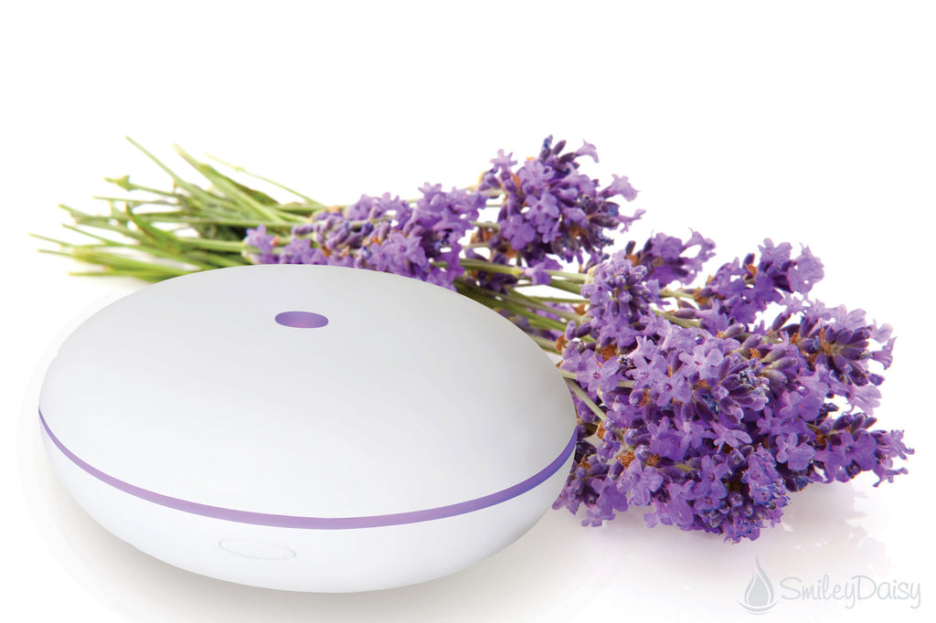 Essential Oil Diffuser - The Hibiscus (White)
