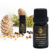 Cedarwood Essential Oil – 100% Pure, Natural and Therapeutic Grade - 10ml
