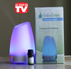 AS Seen On TV - Smiley Daisy Aromatherapy Diffuser Bundle with 5 ML 100% Eucalyptus Essentila Oil