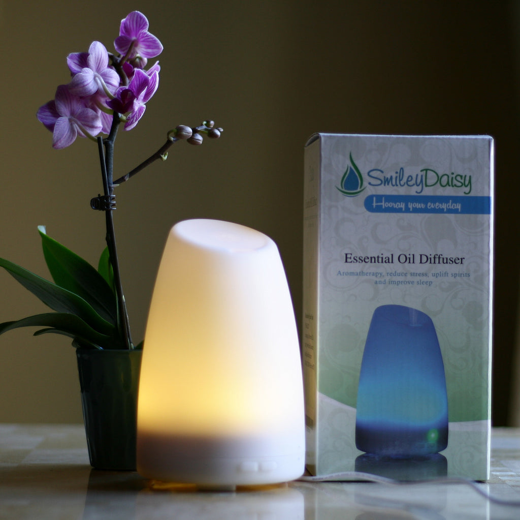 Aromatherapy Essential Oil Diffuser - The Daisy