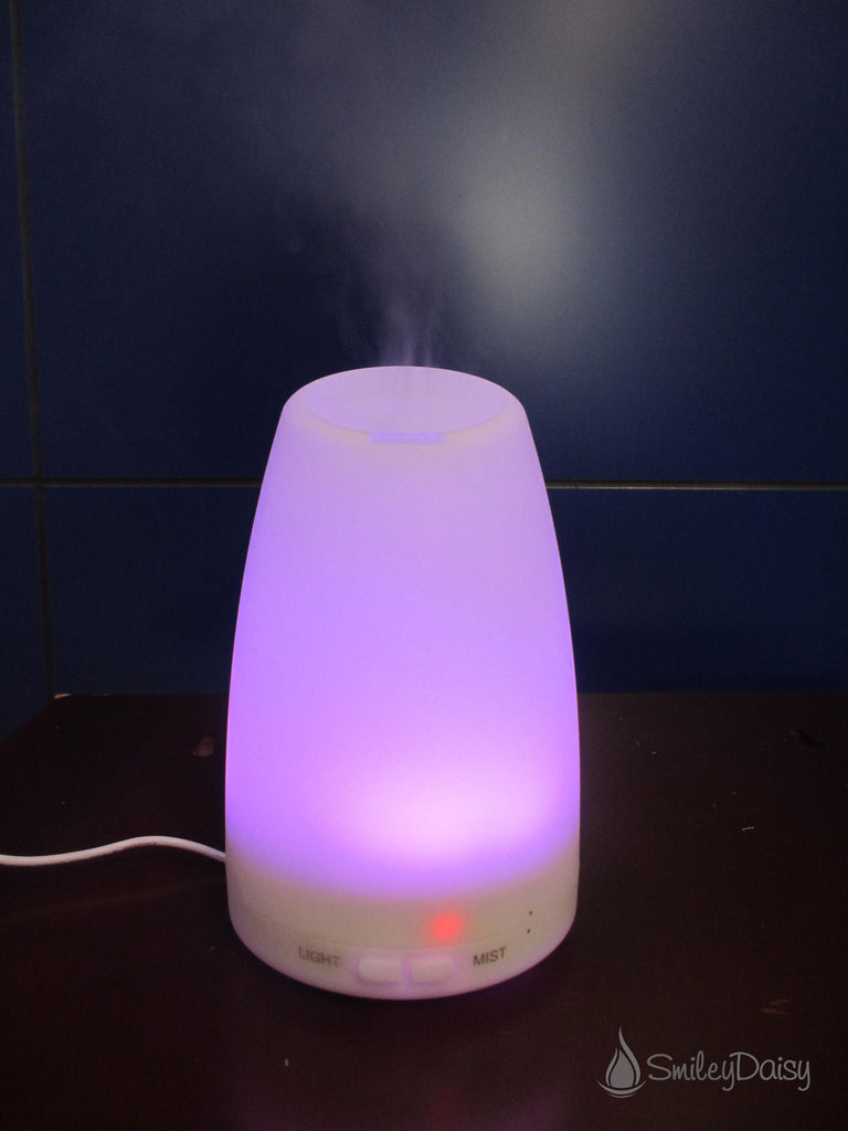 Aromatherapy Essential Oil Diffuser - The Daisy (Like New Item)
