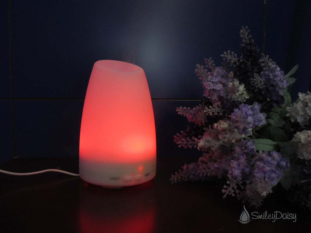 Aromatherapy Essential Oil Diffuser - The Daisy (Used Item)