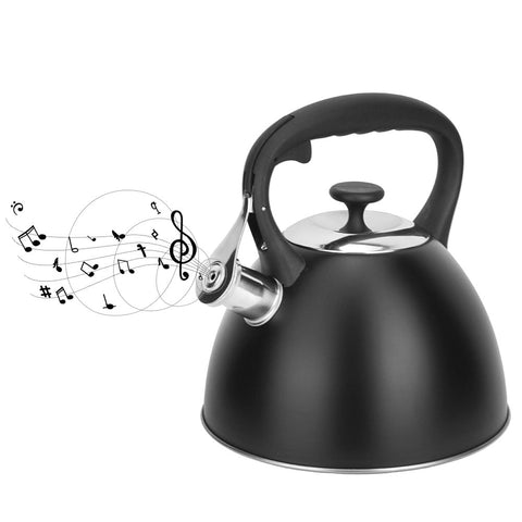 2020 Limited New 3L Whistling Kettle For Gas Stove Chaleira Bouilloire Stainless Steel Whistle Tea Kettle Water Bottle RU