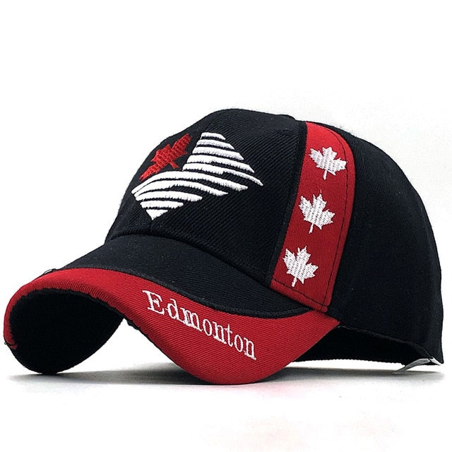 Gorras Brand Canada Flag Men fishing Baseball Cap Of Canada Hat Mens Snapback Bone Adjustable Wonmen Baseball Hat Snapback Hat