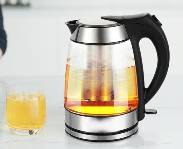 electronic thermostat insulation glass electric heating kettle teapot