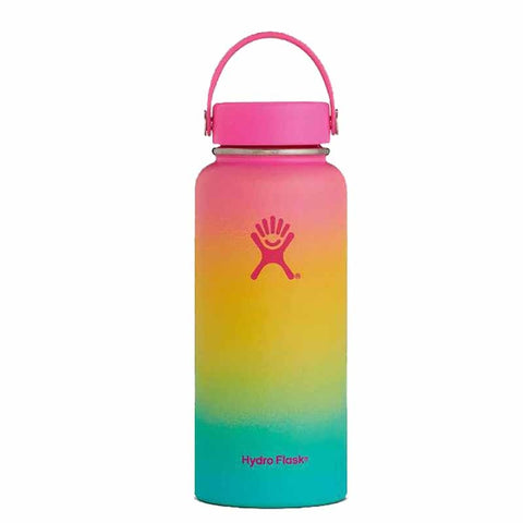 32oz/40oz Thermos Hydro Flask Stainless Steel Water Bottle Vacuum Insulated Wide Mouth Travel Portable Thermal Bottles