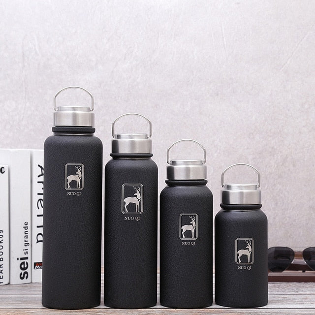 600/800/1000/1500ml Stainless Steel Vacuum Flask Outdoor Sport Chilly Bottle Portable Travel Thermos Cup