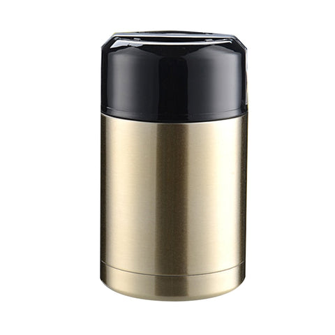 New 800ML 1000ML Food Soup Thermos Thermal  Stainless Steel Vacuum Lunch Box Food Container DropshippingHome