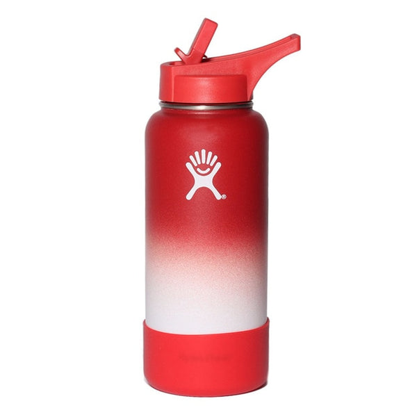 New Hot Hydro Flask 18oz/32oz Kettle Stainless Steel Kettle Vacuum Insulated Wide Mouth Insulated Wide Mouth Thermos Bottle