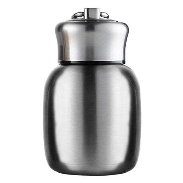 Small Capacity Thermos Bottle insulated Portable rope thermos cup Vacuum Flasks Mini Cute Water Bottles Insulated Mugs