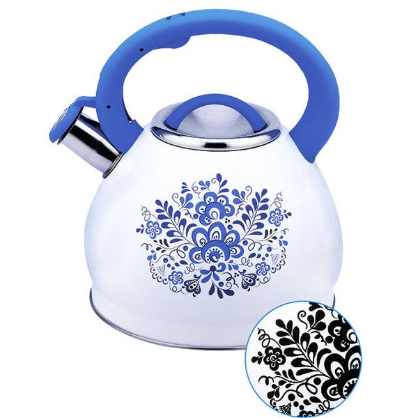 "Kettle with whistle 3,0л fun pk-3001 ""Gzhel"""