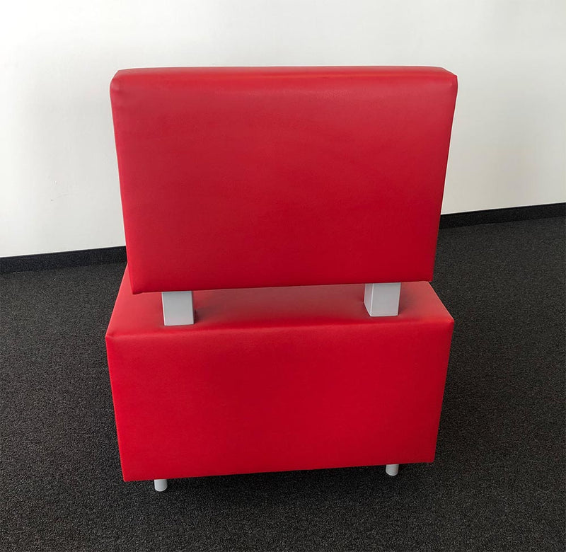 FLEXI Sofa Element 600 x 600 mm gerade Lehne