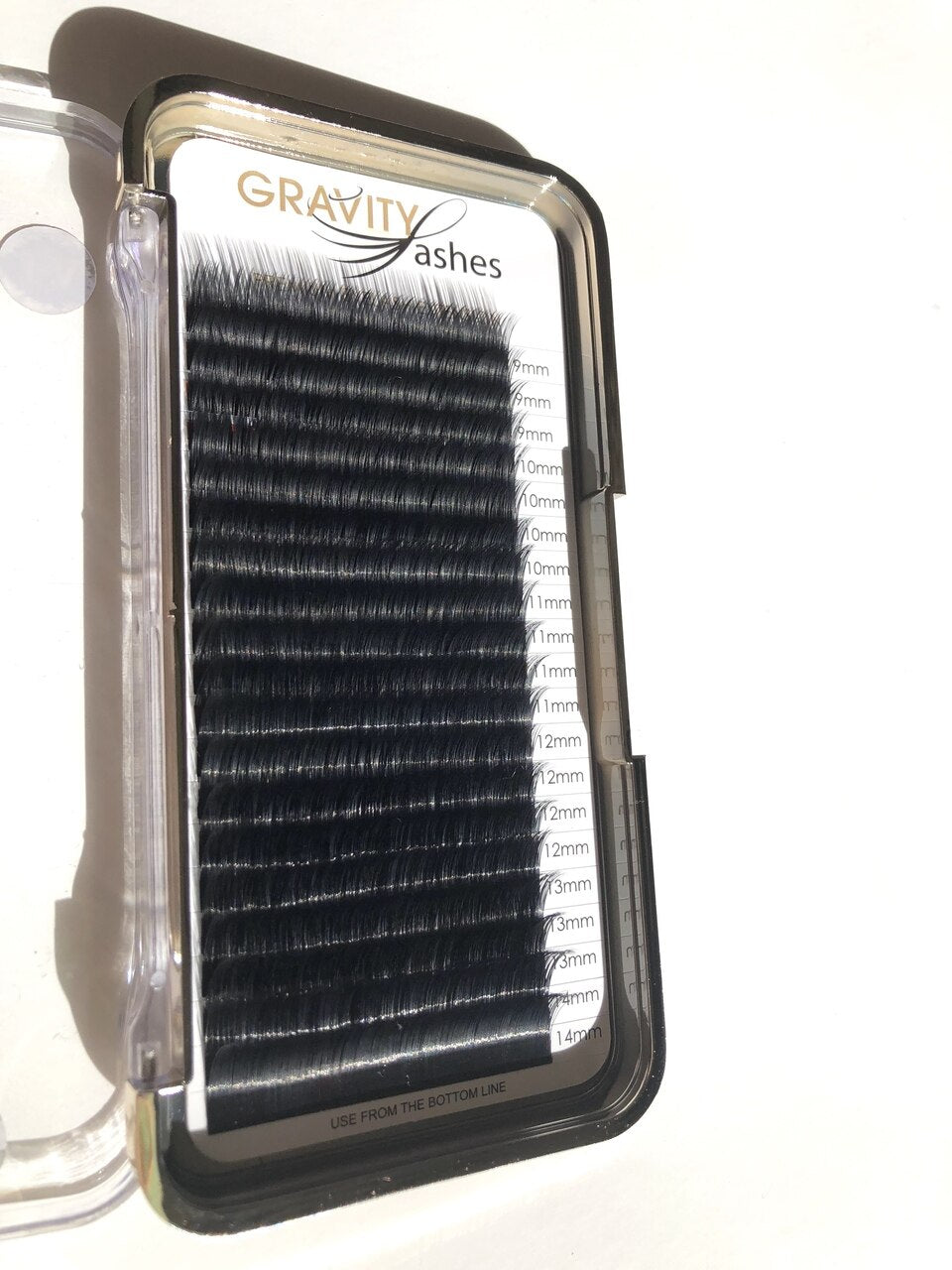 Gravity Lashes Lash C Curl 0.03 Volume I - NEW 20 Line Mixed Tray