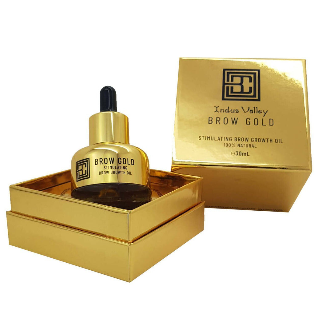 Brow Code Brow Gold Nourishing Growth Oil 30ml