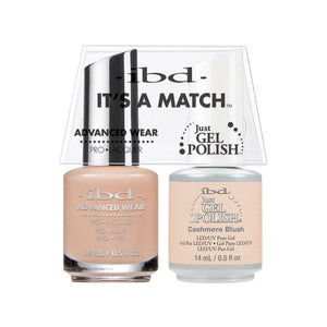 ibd Gel Polish & Lacquer Duo - Cashmere Blush