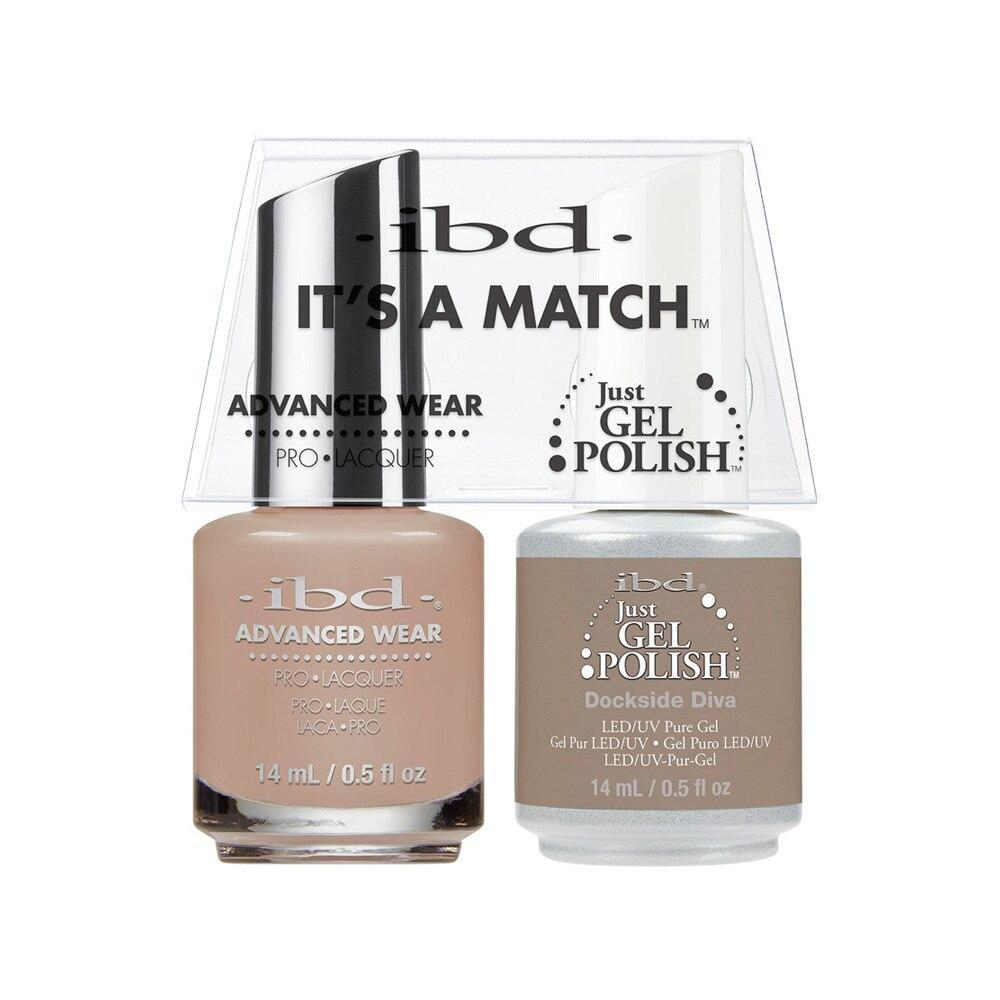 ibd Gel Polish & Lacquer Duo - Dockside Diva