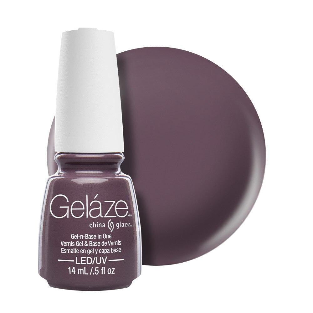 China Glaze Gelaze Gel & Base 14ml - Below Deck
