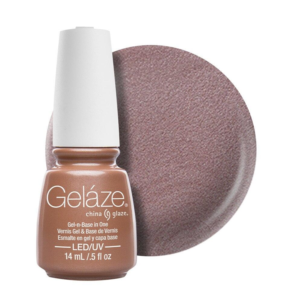 China Glaze Gelaze Gel & Base 14ml - Camisole