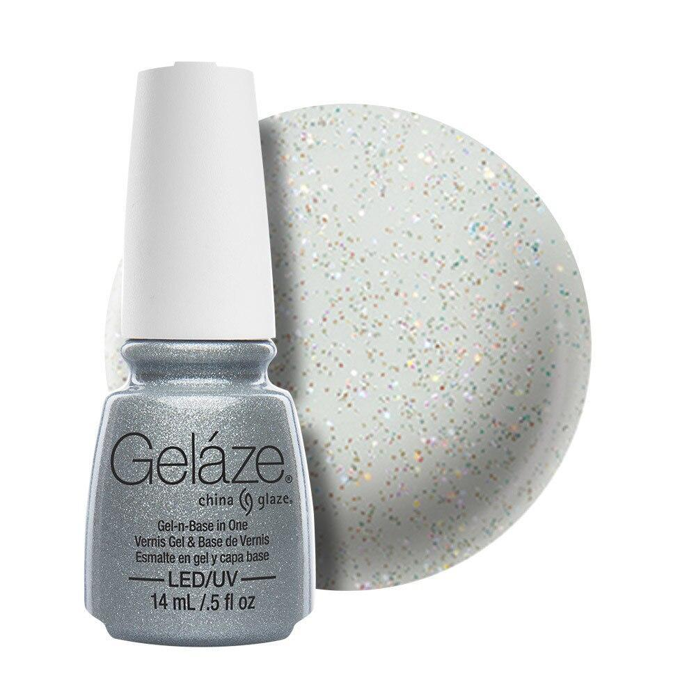 China Glaze Gelaze Gel & Base 14ml - Fairy Dust