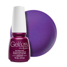Load image into Gallery viewer, China Glaze Gelaze Gel & Base 14ml - Flying Dragon
