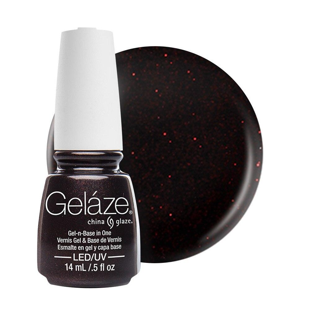 China Glaze Gelaze Gel & Base 14ml - Lubu Heels