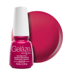 China Glaze Gelaze Gel & Base 14ml - Make An Entrance