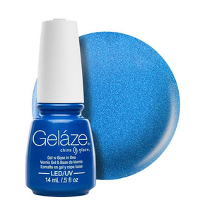 China Glaze Gelaze Gel & Base 14ml - Splish Splash