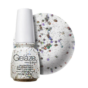 China Glaze Gelaze Gel & Base 14ml - Techno