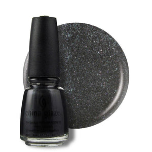 China Glaze Nail Lacquer 14ml - Black Diamond