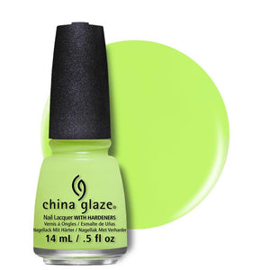 China Glaze Nail Lacquer 14ml - Grass Is Lime Greener