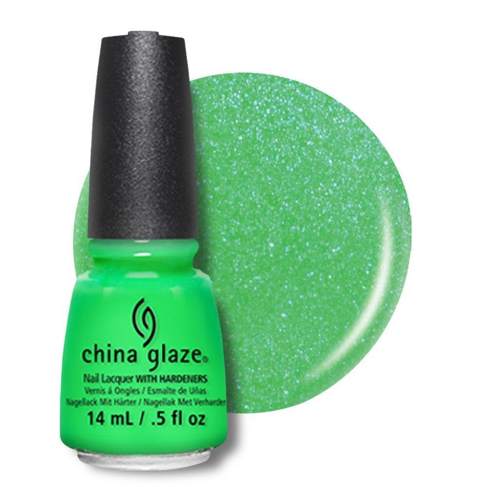 China Glaze Nail Lacquer 14ml - In the Lime Light