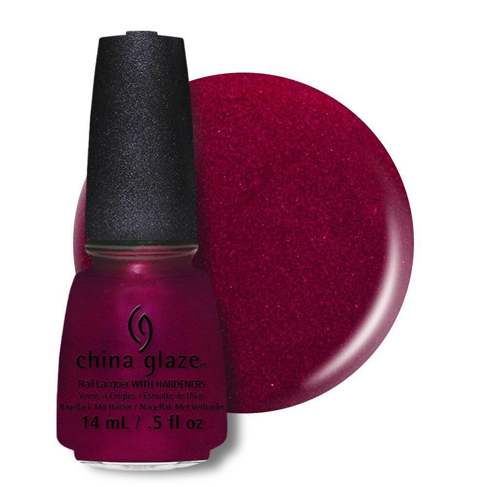 China Glaze Nail Lacquer 14ml - Red-Y and Willing