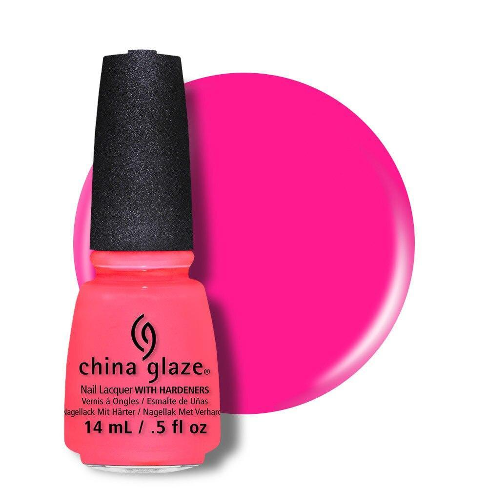 China Glaze Nail Lacquer 14ml - Shell-O