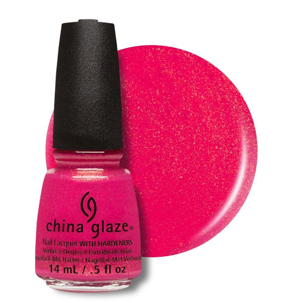 China Glaze Nail Lacquer 14ml - Strawberry Fields