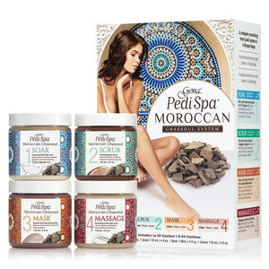 Gena Mani Pedi Intro Kit  Moroccan Ghassoul 4x 118ml