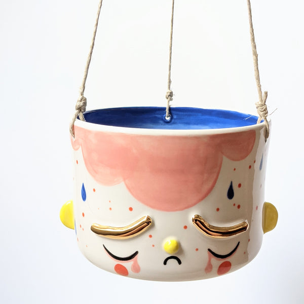 Toyland Collection: Medium Special Hanging Fellow Planter