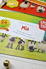 Load image into Gallery viewer, Personalised Shaun the Sheep '24 Sheeps' Activity Advent Calendar