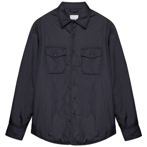 13 Piu Nylon Overshirt Navy