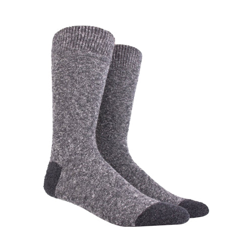 Fleece Wool Socks Light Grey