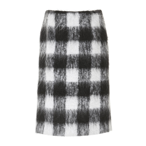 Wool Skirt Black