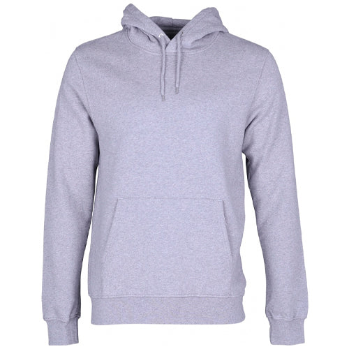 Classic Organic Hoodie Heather Grey
