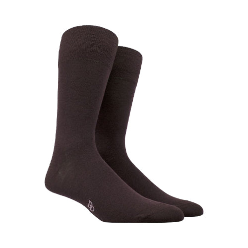 Wool and cotton socks Dark Brown