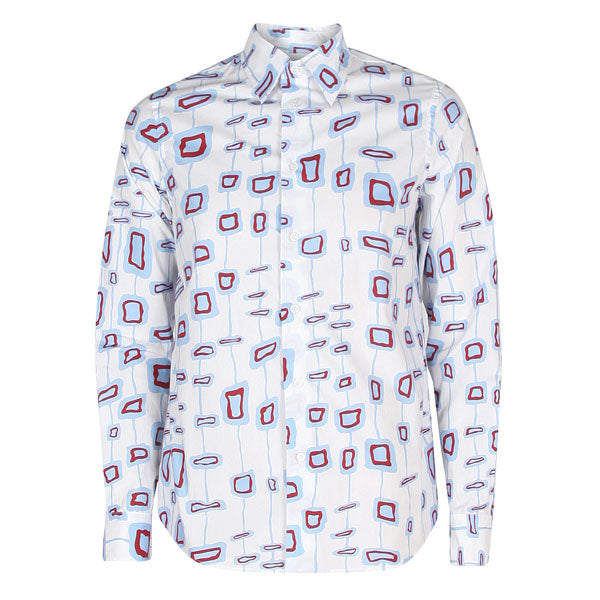 Pattern Shirt  WHITE