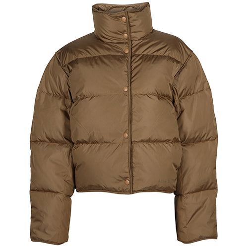Oliviera Tech Down Jacket Brown