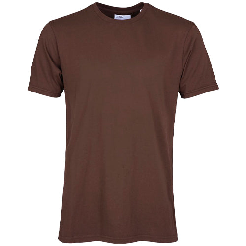 Classic Organic T-Shirt Coffee Brown