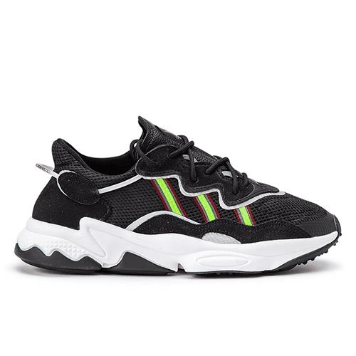 Ozweego Sneakers Core Black/Solar Green/Onix