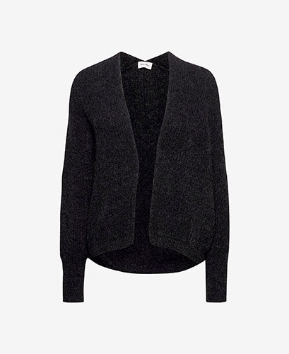East Cardigan Melange Charcoal