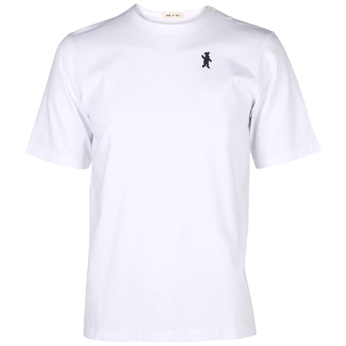 Short Sleeve Cotton T-Shirt White